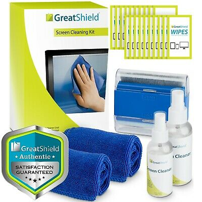 Screen Cleaning Kit Cloth Wipe Brush for TV Tablet Laptop Computer Lens Cleaner
