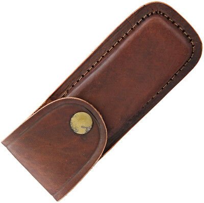 "Pakistan PA33235 Folding Knife Belt Sheath Fits up to 5"" Closed Knives"
