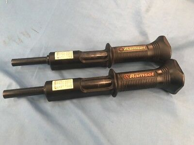 Ramset HD22 Powder Actuated Fastening Hammer Tools 2 In Lot, Both Work Fine