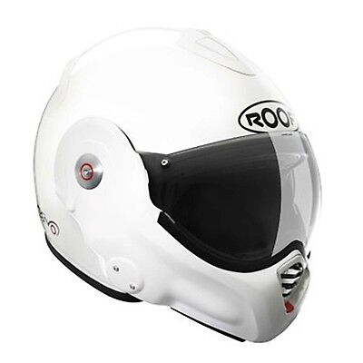 Roof Desmo White Full Face Motorcycle Helmet Size XS-2XL