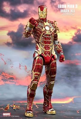 IRON MAN 3: Mark XLI Bones 1/6th Scale Exclusive Action Figure MMS412 (Hot Toys)