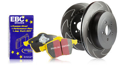 EBC Rear Blade Sport Discs & Yellowstuff Pads Opel Astra Coupe 1.8 (2000 > 05)