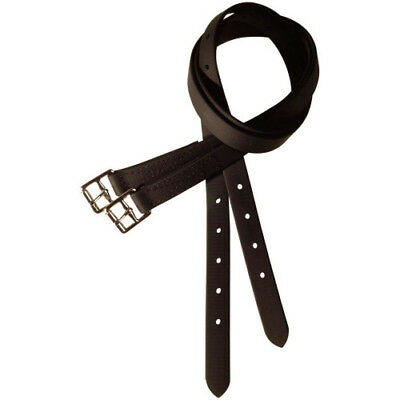 Thorowgood Non Stretch Unisex Saddlery And Equipment Stirrup Leathers - Brown