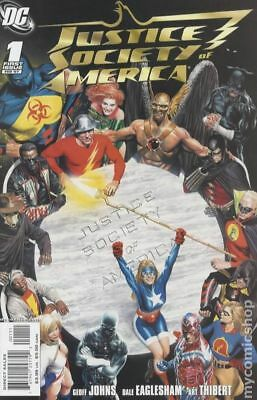 Justice Society of America (3rd Series) 1A 2007 NM Stock Image