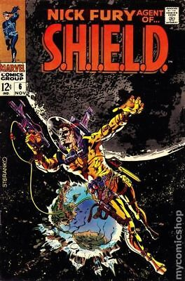 Nick Fury Agent of SHIELD (1st Series) #6 1968 GD/VG 3.0 Stock Image Low Grade