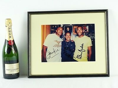Art Sale : OLYMPIC MEMORABILIA Hand Signed 3 Athletes inc Cathy Freeman Runner