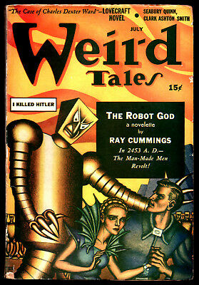"WEIRD TALES:U.S.Ed.July 1941-H.P.Lovecraft, ""The Case of Charles Dexter Ward"""