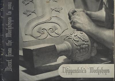 FURNITURE TRADE CATALOGUE CHIPPENDALE'S SHOREDITCH LONDON c1930's