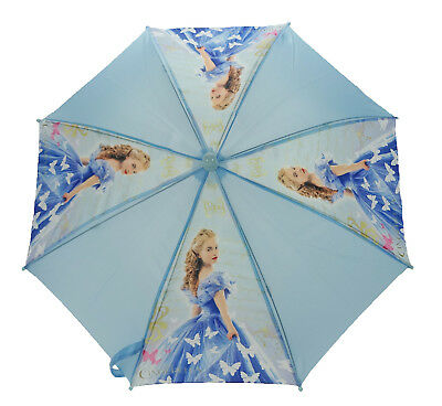 Disney Children's Character Umbrella - Cinderella, Blue