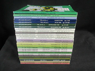 28 Selection Of The Alpine Gardener:bulletin Of The Alpine Garden Society:'94-06
