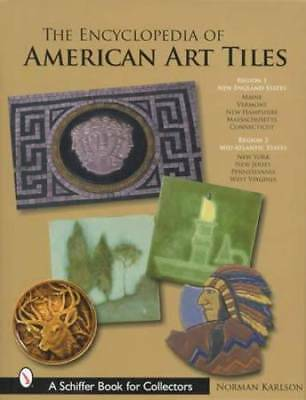 Vintage Arts & Crafts Pottery Tiles Massive Collector Guide R1 New England Area