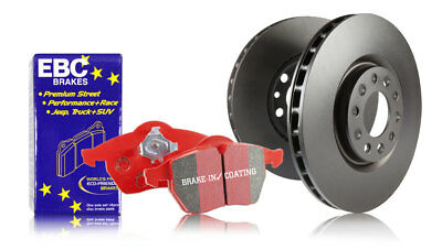 EBC Rear Brake Kit - Standard Discs & Redstuff Pads Jaguar XJS 4.0 (93 > 94)