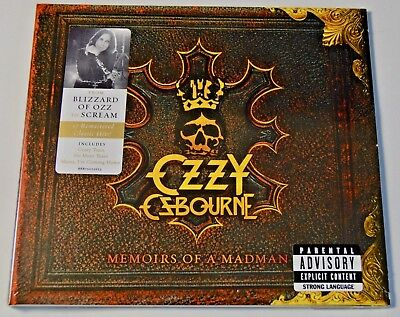 Ozzy Osbourne - Memoirs of a Madman - NEW CD ALBUM Very Best of / Greatest Hits
