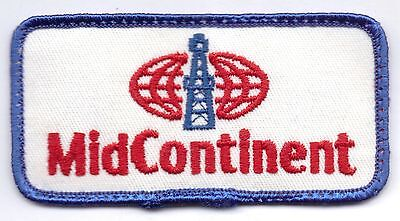 Midcontinent-Patch-Red/white/blue-Four Inches Width-Super Nice-Vintage