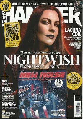 METAL HAMMER - ISSUE March 2018 (NEW) *Post included to UK/Europe/USA/Canada