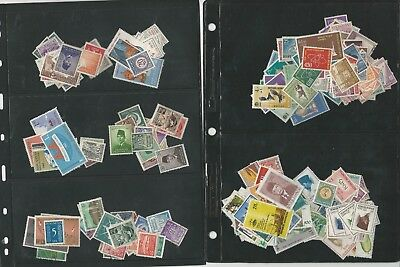 Indonesia Collection on 4 Stock Pages, Lots of Stamps to Sort Through