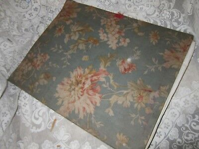 19th Century French Fabric Covered Child's Scrap Book