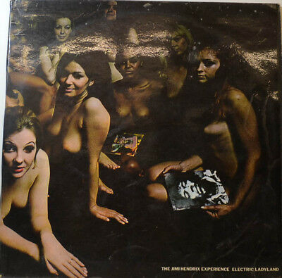 """Electric Ladyland - The Jimi Hendrix Experience - Uk 1St Press - 12"""" Lp (Y2011)"""