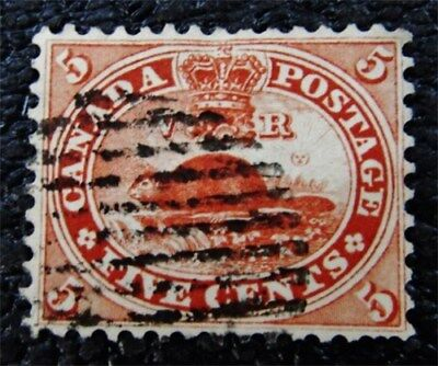 nystamps Canada Stamp # 15 Used UN$50 VF