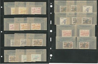 Liberia Collection Specialized #309-312, C63-C64, Signed By Artist, Proofs +