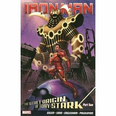 Iron Man Vol.3: The Secret Origin of Tony Stark - Paperback NEW Kieron Gillen(A