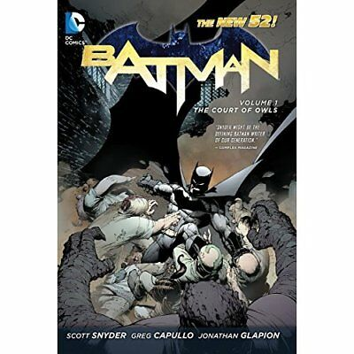 The Court of Owls (Batman - Hardcover NEW Scott Snyder 2012-05-11