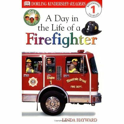 A Day in the Life of a Firefighter (DK Readers: Level 1 - Paperback NEW Hayward,