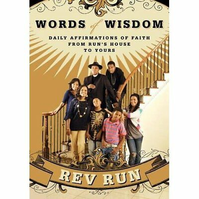 REV RUN WORDS Of Wisdom Daily Affirmation Of Faith From