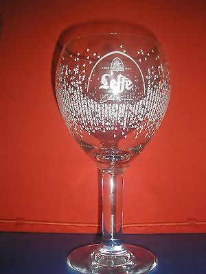 """Verre A Biere   """" Leffe Charles Kaisin 33Cl"""""""
