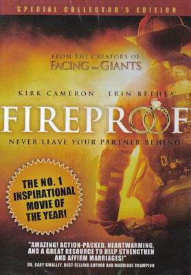 NEW Sealed Widescreen DVD! FIREPROOF - Special Collector's Ed. (Kirk Cameron)