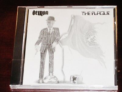 Demon: The Plague CD 2002 Remaster Bonus Tracks Spaced Out Music UK SPMCD004 NEW