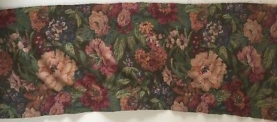 Beautiful 1920's or 30's Printed French Cotton Floral Fabric (2219)