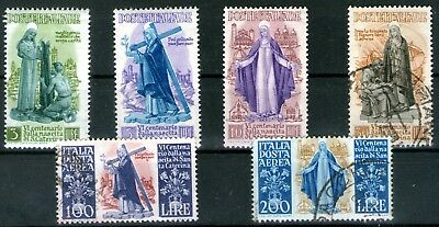 Italy 1948 St Catherine of Siena set of 6 Mint Lightly Hinged and Fine Used