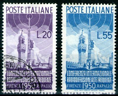Italy 1950 Radio Conference Used.