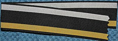 1864 Prussian War Commemorative War Medal Replacement Ribbon 10 Inches FREE SHIP