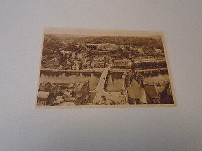 """Cp  Ancienne   Dinant """"  Panorama Et Faubourg St Medard  """""""