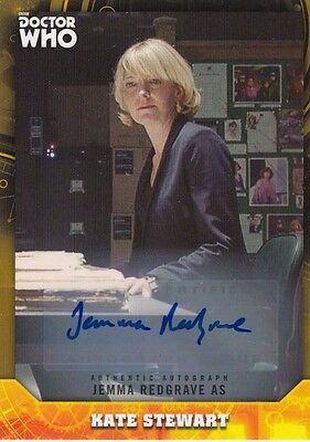 Doctor Who Signature Series - Jemma Redgrave Autograph Card Gold Parallel 1/1