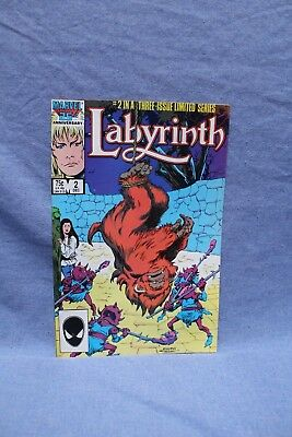 1986 Marvel Labyrinth #2 Comic Book