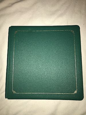 Creative Memories 12x12 Album Evergreen Green w/ Old Size Pages Rare