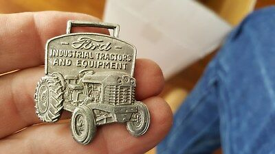 c1950s Watch Fob with Ford Industrial Tractor,Walter Coale,Churchville,Maryland