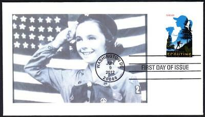 SCOUTING Stamp 7691 GIRL SCOUTS OF AMERICA First Day Cover FDC 1 MADE (1952y)
