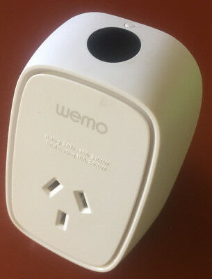Belkin Wemo Insight WIFI Smart Plug Timer With Power Monitoring IOS Android