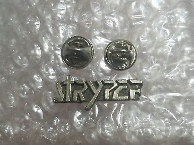 Rock Band Stryper Logo Pin With Cap Back 1'' Length