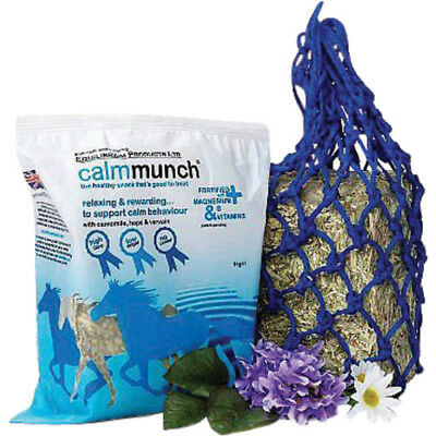 Equilibrium Calm Munch Unisex Stable And Yard Horse Treats - Clear All Sizes