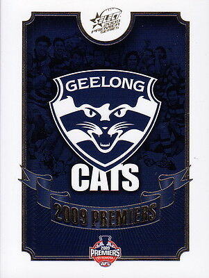 AFL - GEELONG 2009 AFL Premiership Collector Card Set (25) by Select #NEW