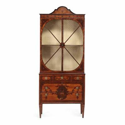 Fine George III Satinwood and Inlaid Bookcase Lot 313