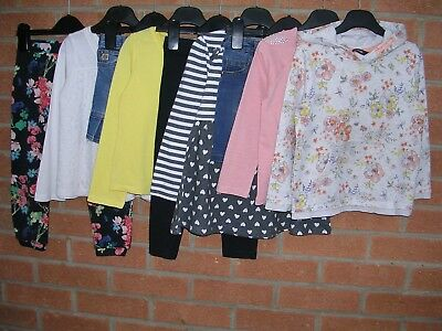 RIVER ISLAND GEORGE NEXT etc Girls Bundle Skirts Trousers Tops Age 3-4 104cm