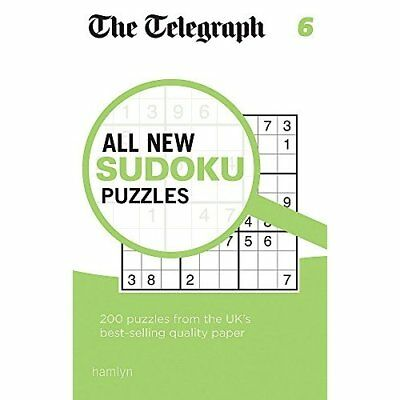 The Telegraph All New Sudoku Puzzles 6 (The Telegraph P - Paperback NEW THE TELE