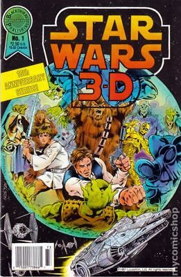 Star Wars 3-D 1A 1987 VG/FN 5.0 Stock Image Low Grade