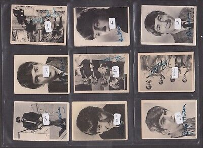 Beatles A&BC Bubblegum cards JUST PICK THE CARDS YOU NEED VGC
